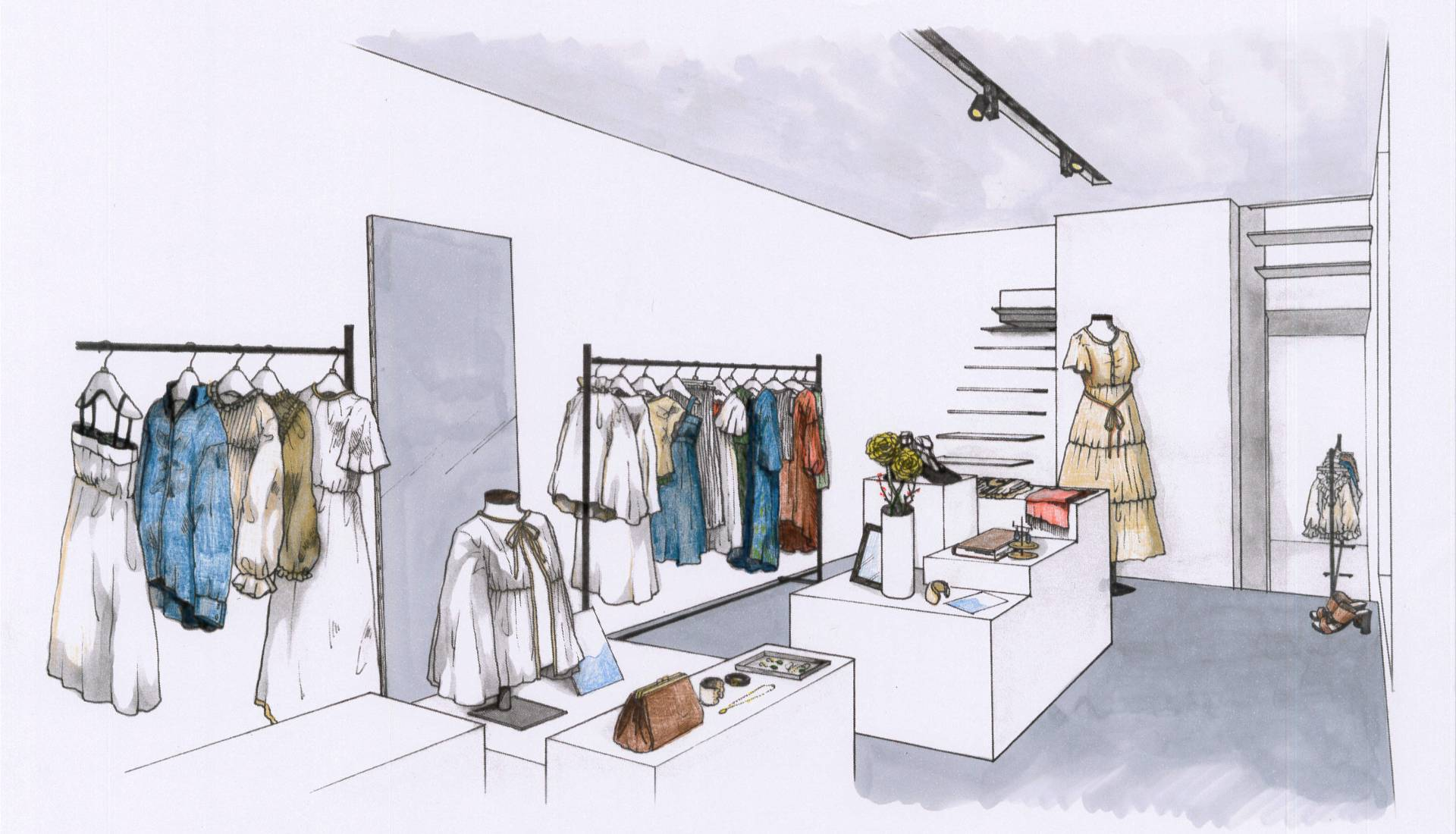 K&S 店舗内装イメージ